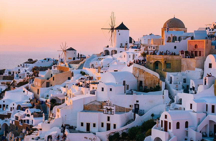 casas mediterráneas tradicionales