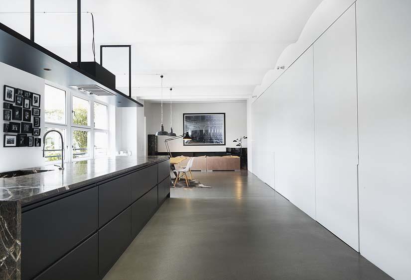 diseños de loft industrial
