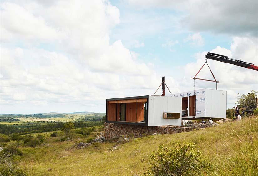 casas prefabricadas tiempo de construcción