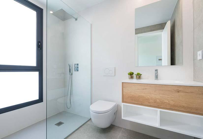 baño vivienda vacacional