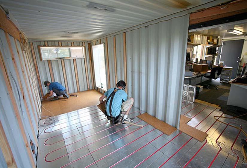 construccion casa contenedor
