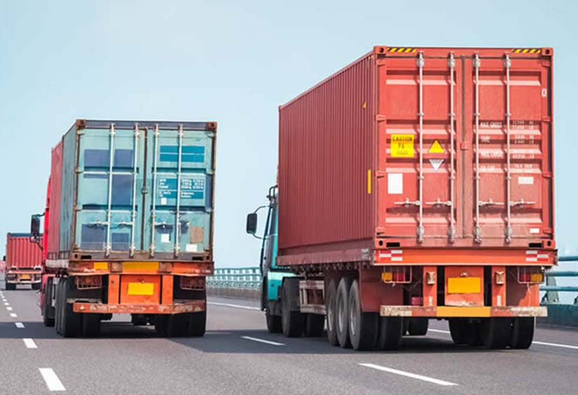transporte contenedores